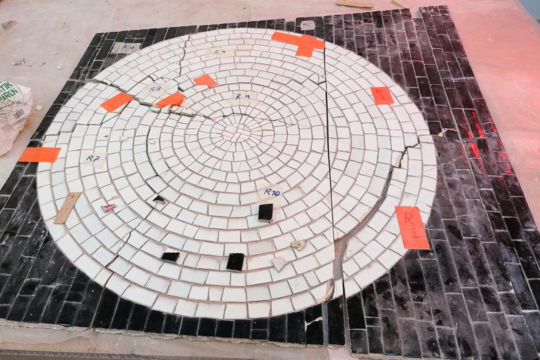 Mosaikbearbeitung