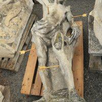 Statue - vor der Reinigung
