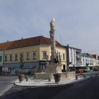 Pestsäule Poysdorf - nach den Arbeiten