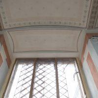 Ansicht der Oberlichte einer Fensternische.
