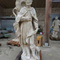 Statue - nach der Reinigung