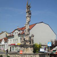 Pestsäule Poysdorf - vor den Arbeiten